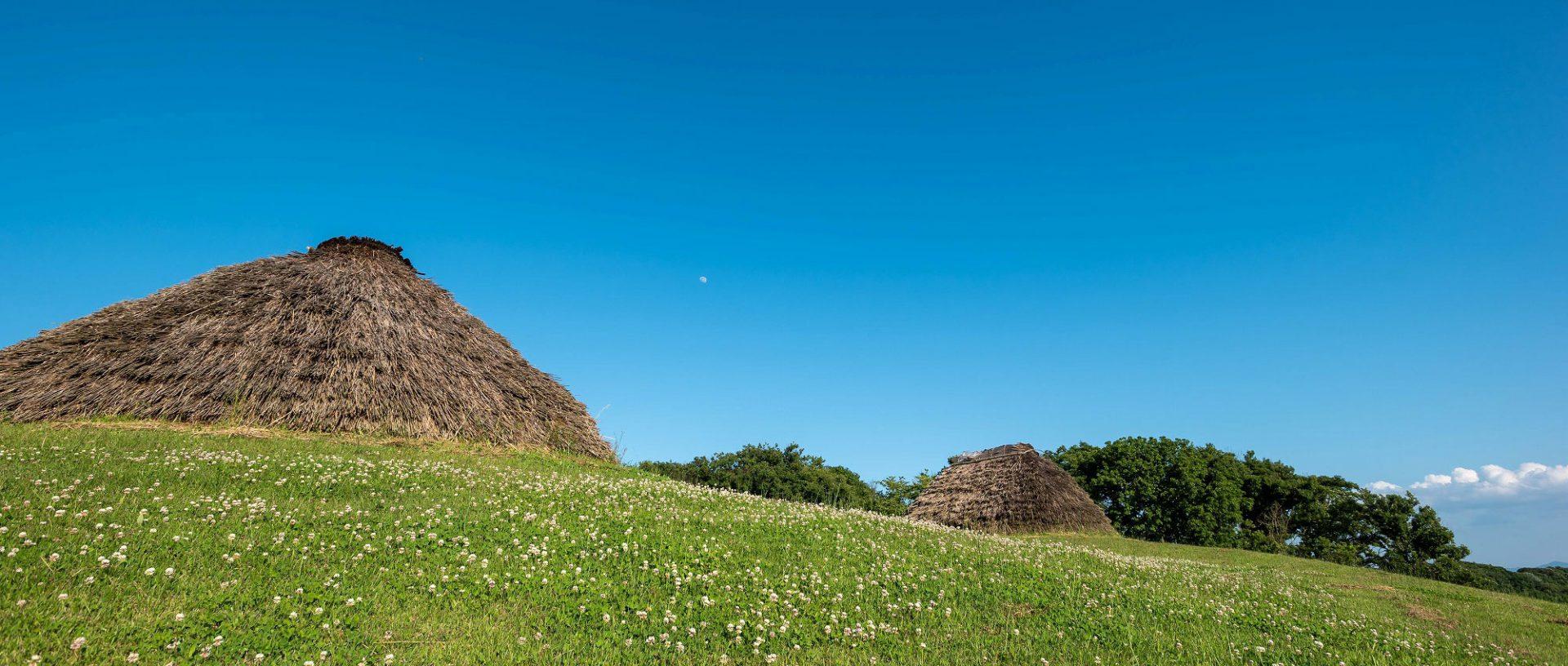 樺山遺跡 竪穴式住居